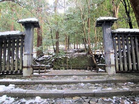 法然院の門