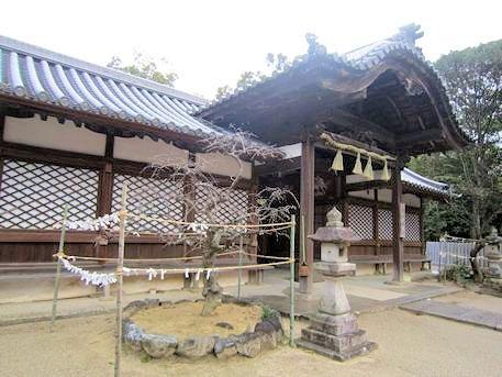 斑鳩神社拝殿