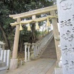 斑鳩神社の鳥居