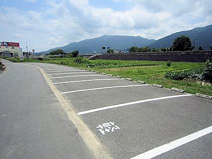 蛇穴駐車場