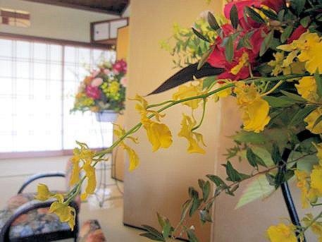 結婚披露宴の装花