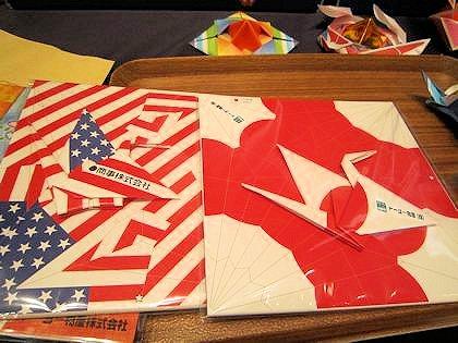 国旗の折り紙
