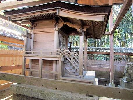 弘計皇子神社本殿