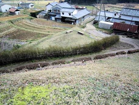 マルコ山古墳墳丘からの眺め
