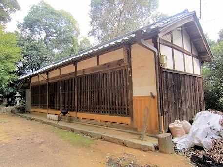 櫛玉命神社の神饌所