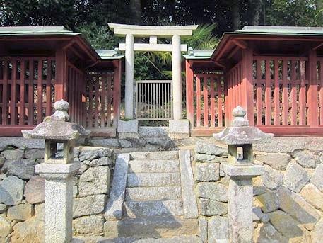 櫛玉命神社の若宮社