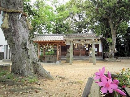 角刺神社の鳥居