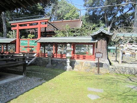 氷室神社本殿