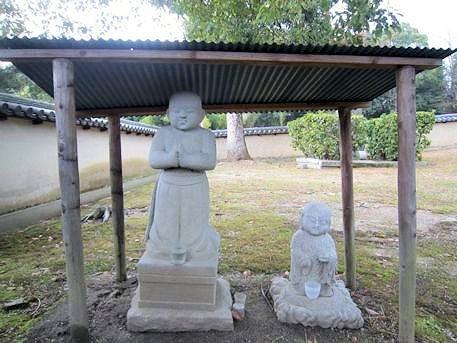 聖徳太子像と地蔵菩薩像