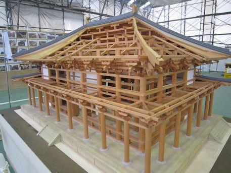 興福寺中金堂の模型