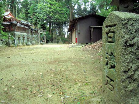 高皇産霊神社の百度石