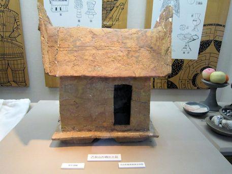 乙女山古墳出土の家形埴輪