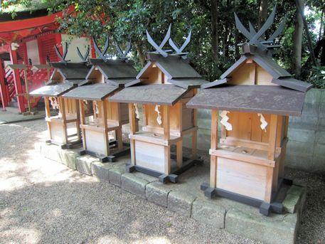 鏡作神社の境内社