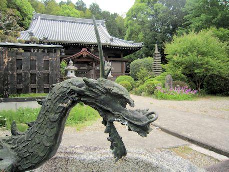 子嶋寺の手水