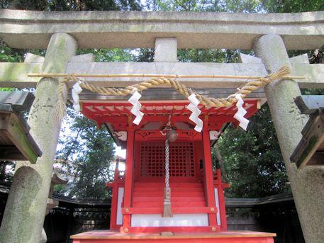 鏡作神社の若宮社