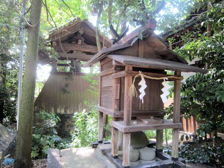鏡作神社の愛宕社