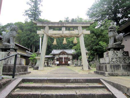 十二柱神社の鳥居