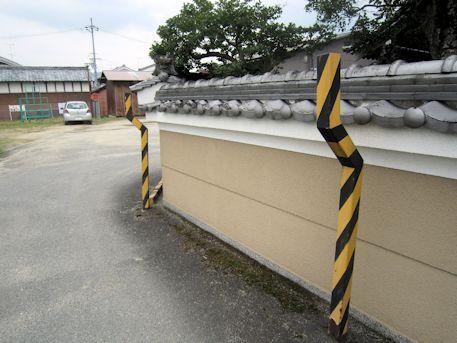 浄福寺のガード設備