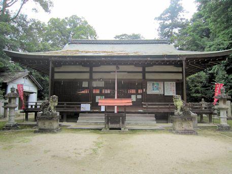 村屋神社拝殿