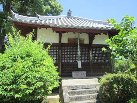 久米寺の地蔵納骨堂