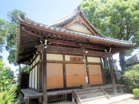 久米寺の観音堂