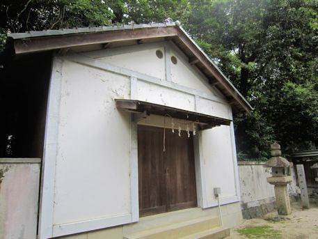村屋神社の蔵