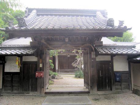 村屋神社の社務所