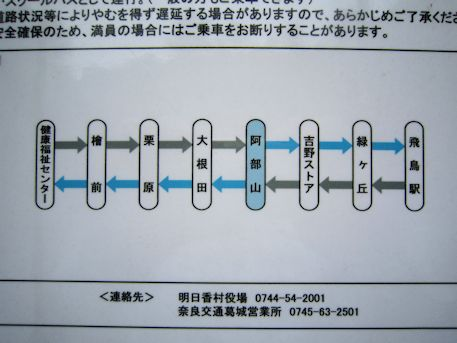 かめバス路線図