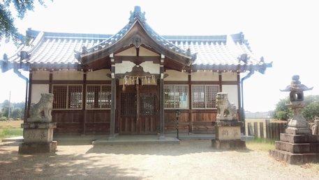 姫皇子命神社拝殿
