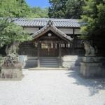 久米御縣神社拝殿
