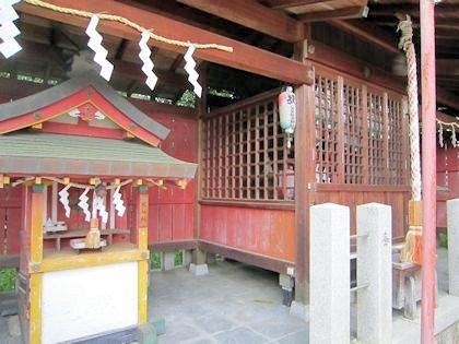八大夫稲荷神社の戎社