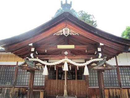 宗我都比古神社拝殿