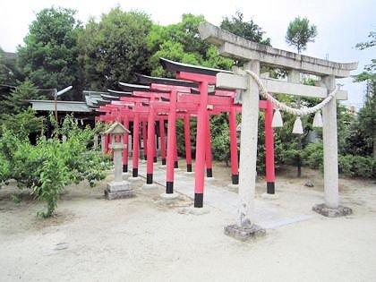 八大夫稲荷神社の鳥居