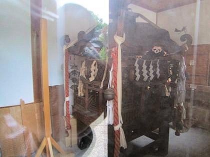 宗我都比古神社の神輿
