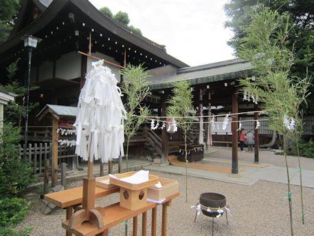 三輪坐恵比須神社拝殿