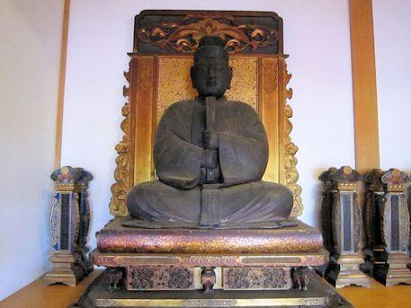 達磨寺の木造聖徳太子坐像