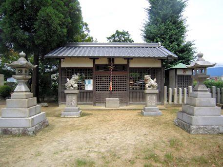 山之坊山口神社拝殿