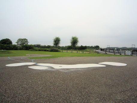 平城京歴史館前の日本列島