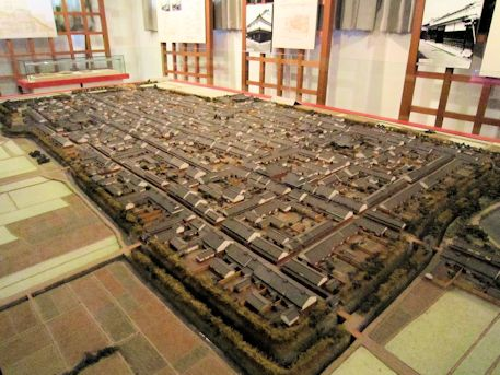 今井町の復元模型