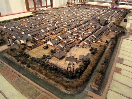今井町復元模型