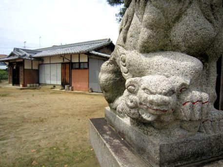 山之坊山口神社の狛犬