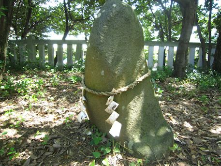 三島神社の磐座