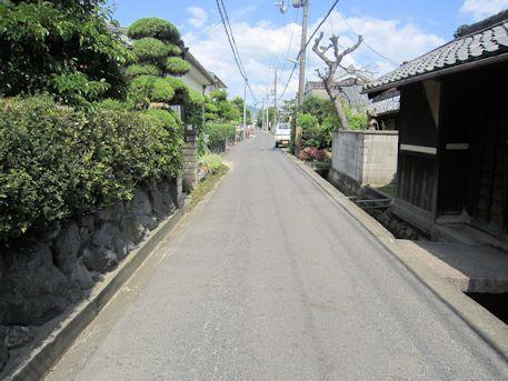 十市城跡へのアクセス道