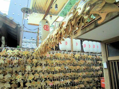 御金神社の銀杏絵馬