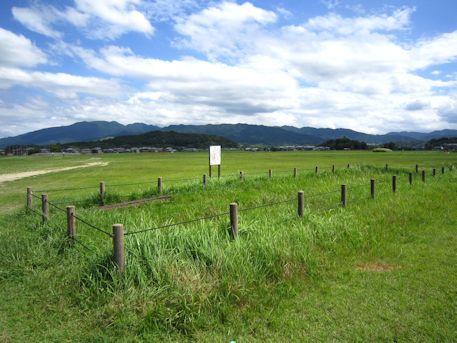 藤原宮跡と香具山