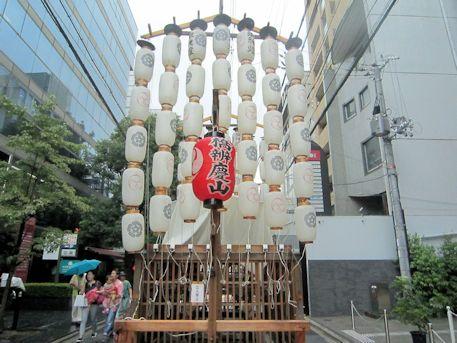 祇園祭の橋弁慶山