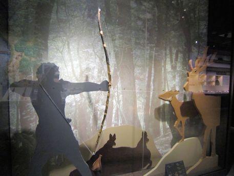 縄文時代の弓矢