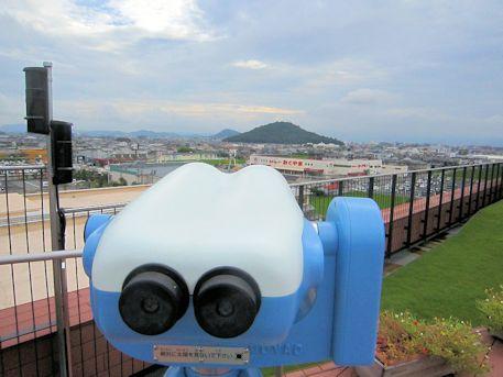 大和三山と望遠鏡