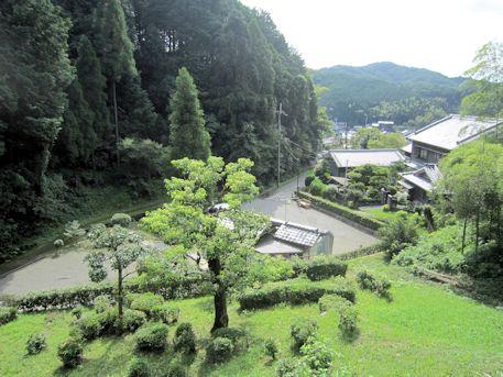 段ノ塚古墳からの風景