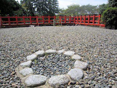 高鴨神社斎庭